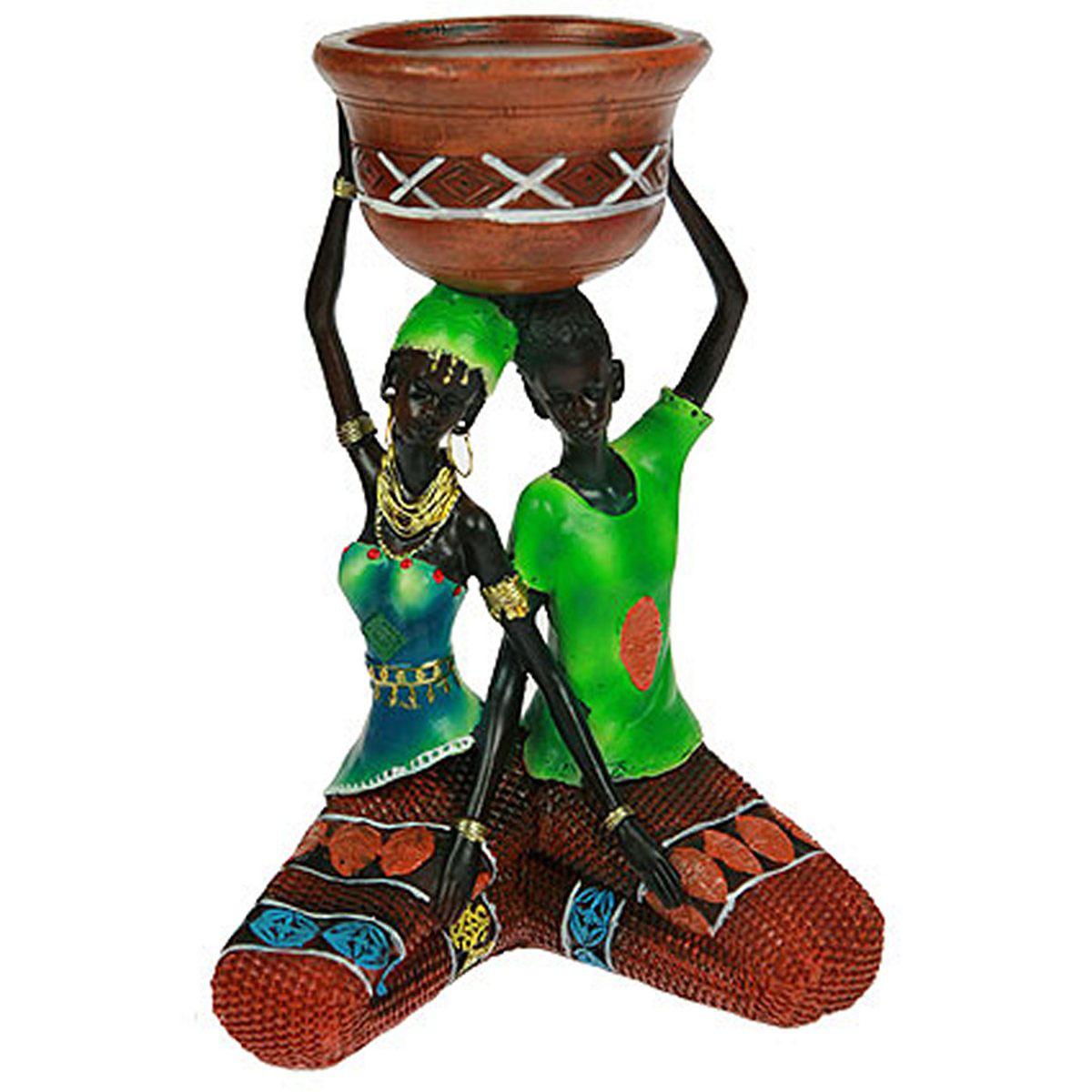 Статуэтка Русские Подарки Африканка, 16 х 12 х 23 см. 2612826128Статуэтка Русские Подарки Африканка, изготовленная из полистоуна, имеет изысканный внешний вид. Изделие станет прекрасным украшением интерьера гостиной, офиса или дома. Вы можете поставить статуэтку в любое место, где она будет удачно смотреться и радовать глаз. Правила ухода: регулярно вытирать пыль сухой, мягкой тканью.