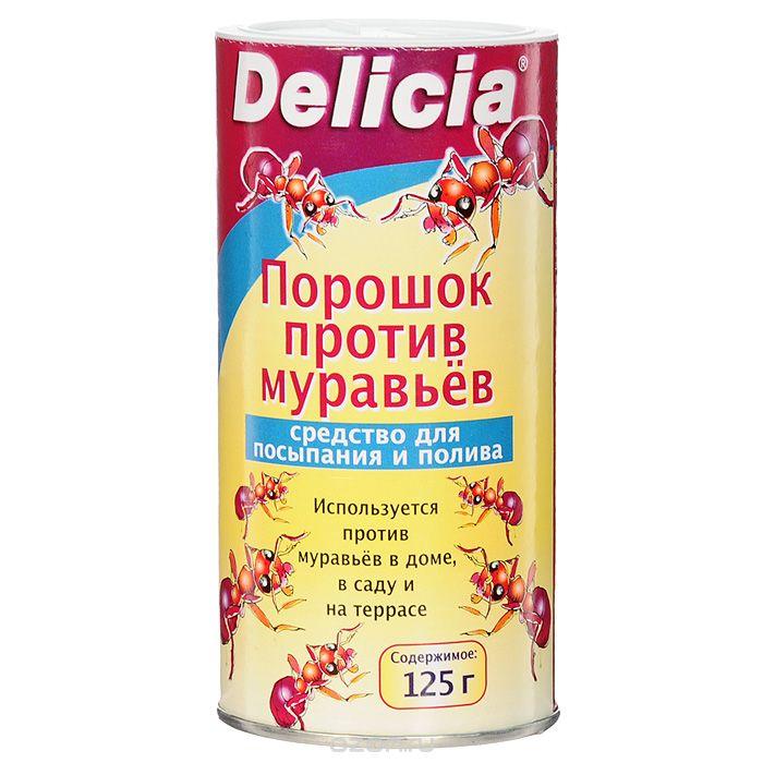 Порошок против муравьев Delicia, 125 г0715-758Порошок Delicia используется против муравьев в доме, саду и на террасе. Средство может применяться как для посыпания, так и для полива. Муравьи переносят порошок в свое гнездо, где он поедается муравьиной королевой и подрастающим потомством. Коме того, порошок обладает контактным действием. Действующее вещество: 10 г/кг хлорпирифос. Противоядие: атропин + токсогонин (при врачебном контроле). Вес: 30 г. Товар сертифицирован.