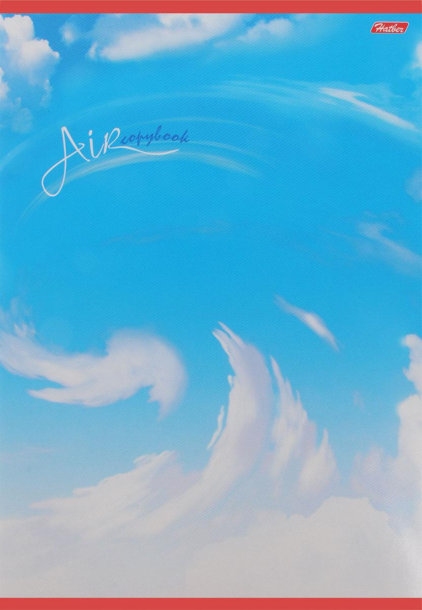 Hatber Тетрадь Air 48 листов в клетку48Т4вмB3_03974_AirТетрадь в клетку Hatber Air идеально подойдет для занятий школьнику или студенту. Обложка, выполненная из плотного картона, позволит сохранить тетрадь в аккуратном состоянии на протяжении всего времени использования. Обложка тетради оформлена изображением облаков. Внутренний блок состоит из 48 листов белой бумаги в голубую клетку без полей, скрепленных двумя металлическими скрепками.