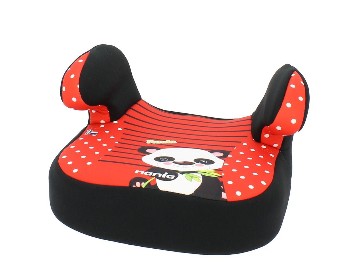 Nania Автокресло Dream Panda RedSM/DK-200 KroshDream имеет мягкое покрытие, а удобные подлокотники обеспечивают ребенку комфорт во время путешествия. Ребенок фиксируется штатными автомобильными ремнями. Кресло устанавливается в автомобилях с 3-х точечными ремнями безопасности на переднем сиденье рядом с водителем или на заднем сиденье с краю, кресло устанавливается в машине по направлению движения.
