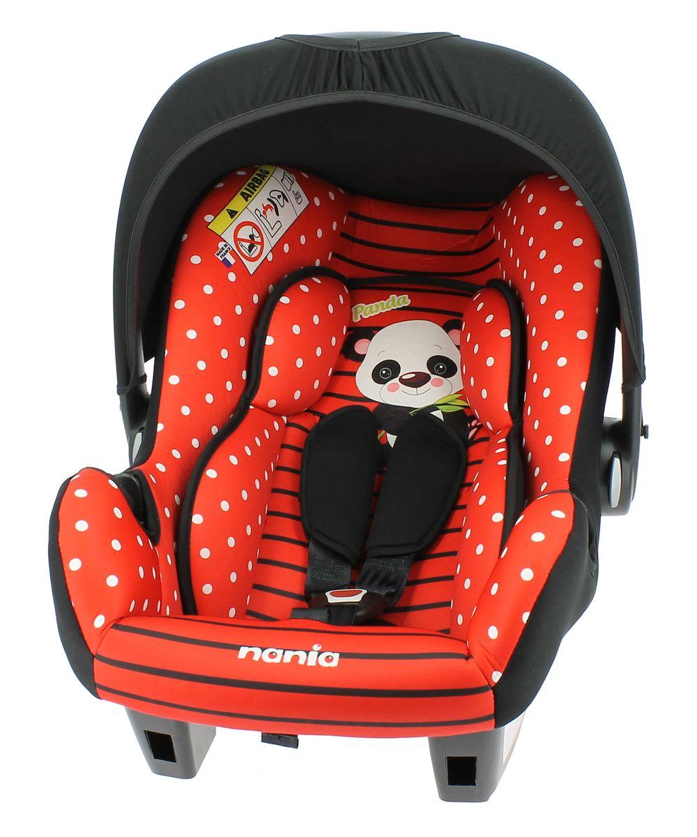 Nania Автокресло Beone SP Panda Red488246Автокресло Nania Be One SP имеет глубокую удобную форму. Это кресло может стать первым попутчиком Вашего малыша во время автомобильных прогулок. Детское автокресло nania BeOne SP можно использовать с рождения до, примерно, 15 месяцев (0-13 кг, группа 0+). Благодаря особой конструкции с двойными стенками и расширением в области головы гарантирована оптимальная защита при боковом ударе. Детская переноска nania BeOne SP разработана специально для новорожденных. А благодаря навесу от солнца ваш ребенок будет чувствовать себя уютно, как в своем домике. Безопасность маленького пассажира гарантируют регулируемые 3-точечные ремни с мягкими плечевыми накладками. В автомобиле детское автокресло nania BeOne SP крепиться штатным 5-точечным ремнем на заднем сиденье или спереди на пассажирском (пожалуйста, отключайте подушку безопасности) против направления движения. Проверено и одобрено в соответствии с требованиями ECE R44/04. Тканевая обивка и подушки можно снимать и стирать при щадящем...