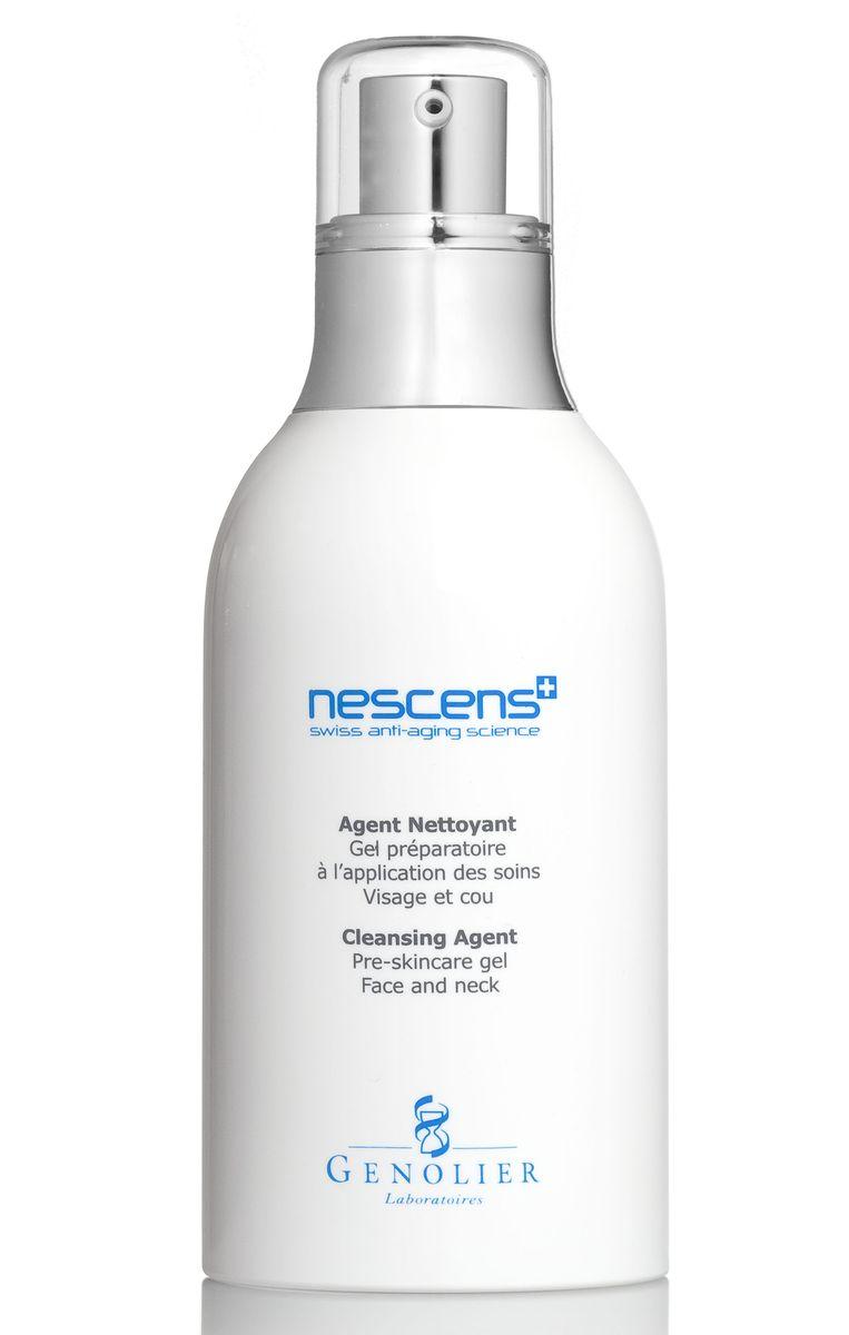Nescens Очищающий гель, 130 млNS00101Подготовка кожи к основному уходу для лица и шеи. Очищающий гель имеет эффективную, но мягкую и щадящую моющую основу в сочетании с комплексом против сухости кожи. Разработан специально для ежедневного очищения кожи лица и шеи. Использование геля является обязательным подготовительным этапом перед нанесением любого косметического средства NESCENS. Основное действие ингредиентов: обеспечивают глубокое очищение, удаляют мертвые клетки и загрязнения, сохраняют естественный гидролипидный баланс, подготавливают кожу к нанесению космецевтических средств NESCENS.