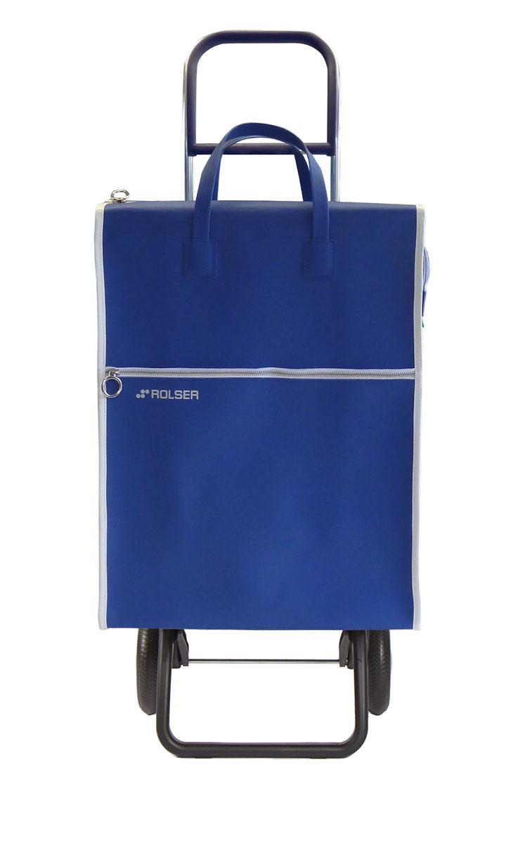 Сумка хозяйственная Rolser, на колесиках, цвет: azul, 40 л. LID001LID001 azulАлюминиевая тележка для покупок с 2 колесами, диаметр колес 16,5 см. Складываемая передняя подставка, занимает минимальное место в сложенном виде при хранении, объем сумки 40 л. Рекомендованная нагрузка 25 кг, каркас алюминий, колеса резина EVA, ткань полиэстер, влагоустойчивая. Тележка не складывается. Рекомендованная нагрузка 25 кг, чистка ручная или химчистка.