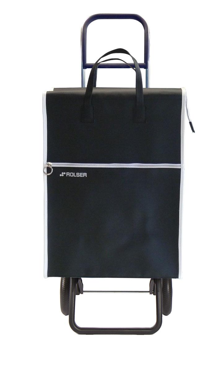 Сумка хозяйственная Rolser, на колесиках, цвет: negro, 40 л. LID001LID001 negroАлюминиевая тележка для покупок с 2 колесами, диаметр колес 16,5 см. Складываемая передняя подставка, занимает минимальное место в сложенном виде при хранении, объем сумки 40 л. Рекомендованная нагрузка 25 кг, каркас алюминий, колеса резина EVA, ткань полиэстер, влагоустойчивая. Тележка не складывается. Рекомендованная нагрузка 25 кг, чистка ручная или химчистка.