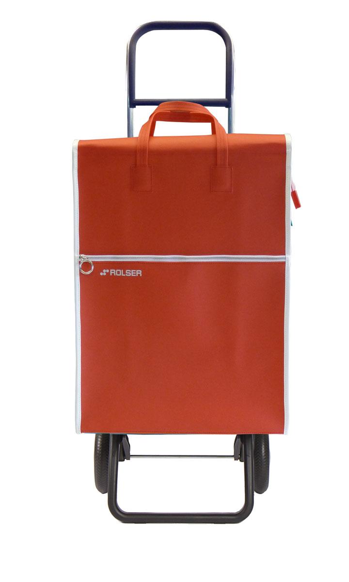 Сумка хозяйственная Rolser, на колесиках, цвет: rojo, 40 лLID001 rojoАлюминиевая тележка для покупок с 2 колесами, диаметр колес 16,5 см. Складываемая передняя подставка, занимает минимальное место в сложенном виде при хранении, объем сумки 40 л. Рекомендованная нагрузка 25 кг, каркас алюминий, колеса резина EVA, ткань полиэстер, влагоустойчивая. Тележка не складывается. Рекомендованная нагрузка 25 кг, чистка ручная или химчистка.