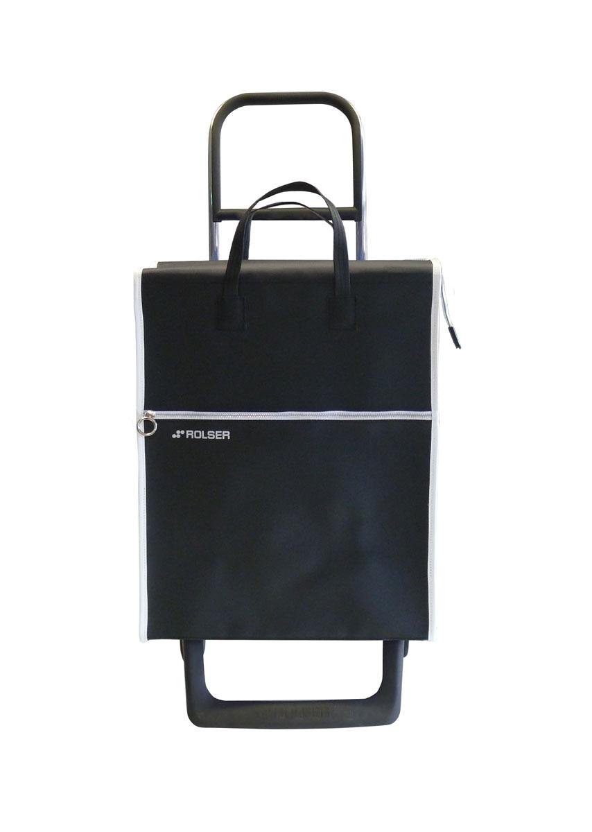 Сумка хозяйственная Rolser, на колесиках, цвет: negro, 36 лMNL001 negroАлюминиевая тележка для покупок с 2 колесами, диаметр колес 13,2 см, колеса резина EVA. Эргономичная ручка, складываемая передняя подставка. Сумка имеет форму рюкзака, объем 36 л, ткань полиэстер, влагоустойчивая, имеет удобное закрытие сумки и легко крепиться на раме. Тележка не складывается. Рекомендованная нагрузка 25 кг, чистка ручная или химчистка.