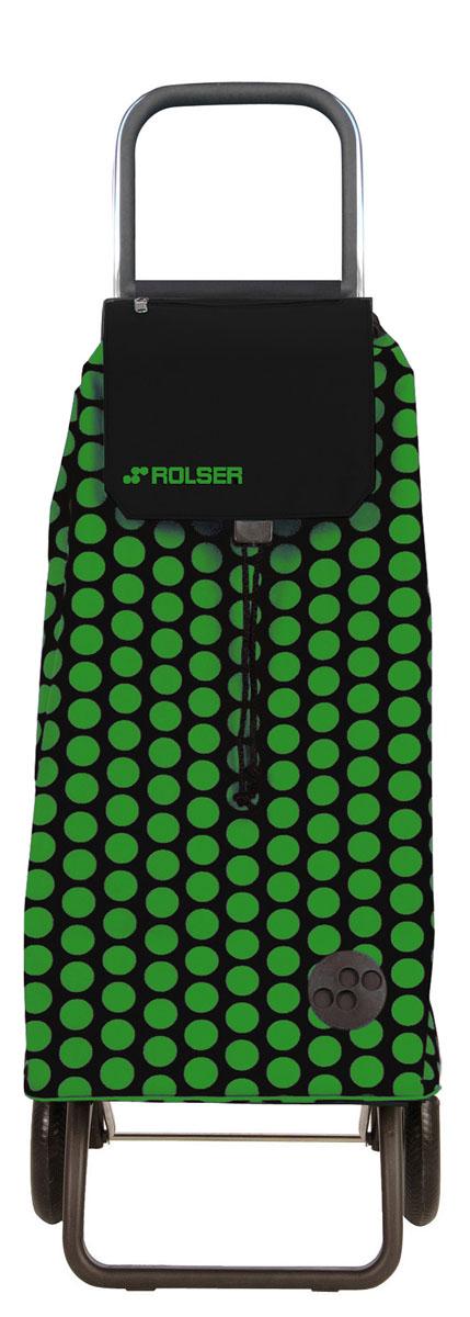 Сумка хозяйственная Rolser, на колесиках, цвет: verde, negro, 51 лMOU047 verde/negroАлюминиевая тележка для покупок с 2 колесами, диаметр колес 16,5 см. Складываемая передняя подставка, занимает минимальное место в сложенном виде при хранении, ,большой объем сумки 51 л. Рекомендованная нагрузка 25 кг, каркас алюминий, колеса резина EVA, ткань полиэстер, влагоустойчивая. Тележка не складывается. Рекомендованная нагрузка 25 кг, чистка ручная или химчистка.