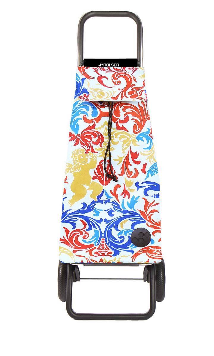 Сумка хозяйственная Rolser, на колесиках, цвет: azul, rojo, 51 лMOU115 azul/rojoАлюминиевая тележка для покупок с 2 колесами, диаметр колес 16,5 см. Складываемая передняя подставка, занимает минимальное место в сложенном виде при хранении, Сумка большого объема 51 л. Рекомендованная нагрузка 25 кг, каркас алюминий, колеса резина EVA, ткань полиэстер, влагоустойчивая. Тележка не складывается. Рекомендованная нагрузка 25 кг, чистка ручная или химчистка.