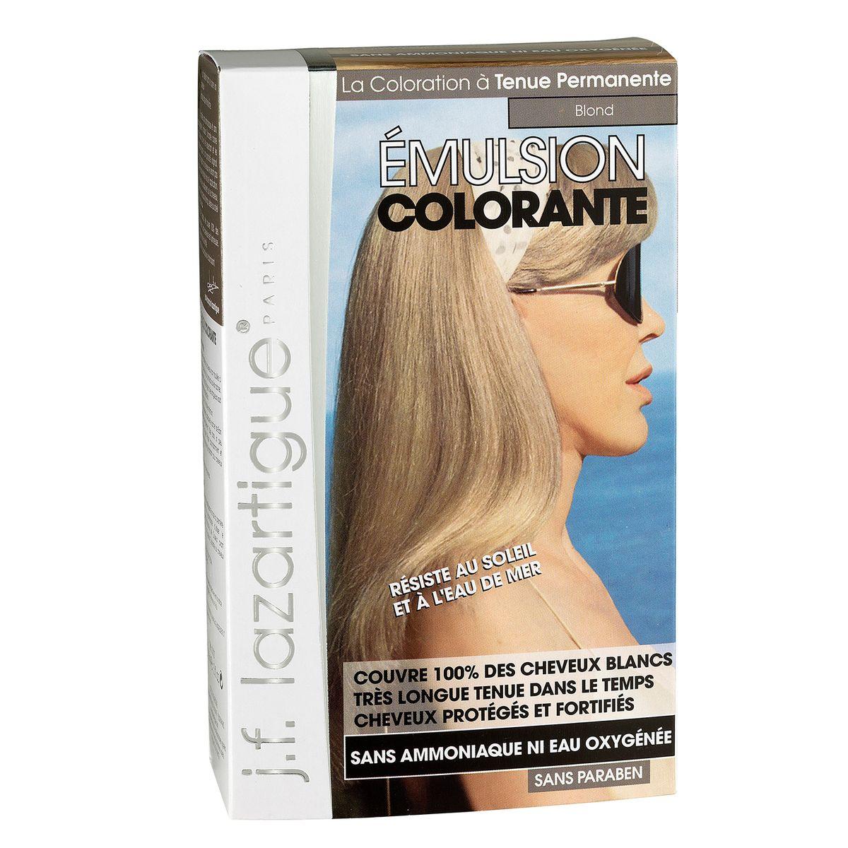 J.F.Lazartigue Оттеночная эмульсия для волос Блондин 60 мл01727Благодаря оригинальной формуле полностью (на 100%) скрывает седину, длительное время сохраняет цвет, поддерживает здоровье и жизненную силу волос и сохраняет эти качества, несмотря на воздействие солнечных лучей, морской воды и прочих неблагоприятных экологических факторов. Не осветляет, не повреждает, а укрепляет волосы. Не содержит аммиака, перекиси водорода и парабенов. Не предназначена для окрашивания бровей и ресниц.