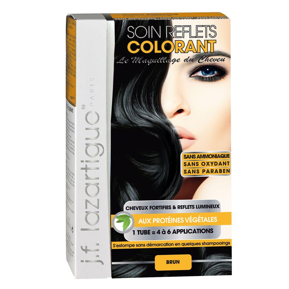 J.F.Lazartigue Оттеночный кондиционер для волос Черный 100 млБ33041_шампунь-барбарис и липа, скраб -черная смородинаОттеночный кондиционер J.F.LAZARTIGUE – это лечебный макияж для Ваших волос. Два эффекта: кондиционирование волос и легкий оттенок. Особенности: придает новый или более теплый (или холодный) оттенок, делает тон темнее или акцентирует цвет, оживляет естественный цвет или придает яркость тусклым и выцветшим на солнце волосам. Закрашивает небольшой процент седины! После мытья волос шампунем (3-6 раз) смывается. Для достижения индивидуального оттенка можно смешать два разных кондиционера: добавить к выбранному ТЕМНЫЙ РЫЖИЙ (Auburn), МЕДНЫЙ (Copper) и т.п. Не осветляет волосы. Не содержит аммиака и перекиси водорода. Не содержит парабенов. Не предназначен для окрашивания бровей и ресниц.