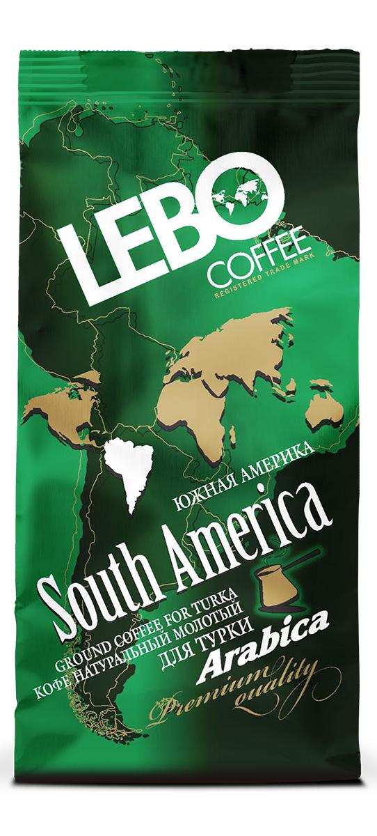 Lebo Южная Америка Арабика кофе молотый, 100 г4602076000920Натуральный жареный молотый кофе Lebo изготовлен по особой рецептуре из лучших сортов кофе Южной Америки. Его неповторимый вкус и аромат придадут вам силы и вселят уверенность в грядущем дне. Вкус кофе богатый, с утонченной кислинкой и шоколадно-винными нотками, имеет устойчивое послевкусие. С самого первого глотка его бодрящий вкус и деликатный, богатый аромат покорит даже самого настоящего гурмана. Кофе идеален для приготовления в турке.