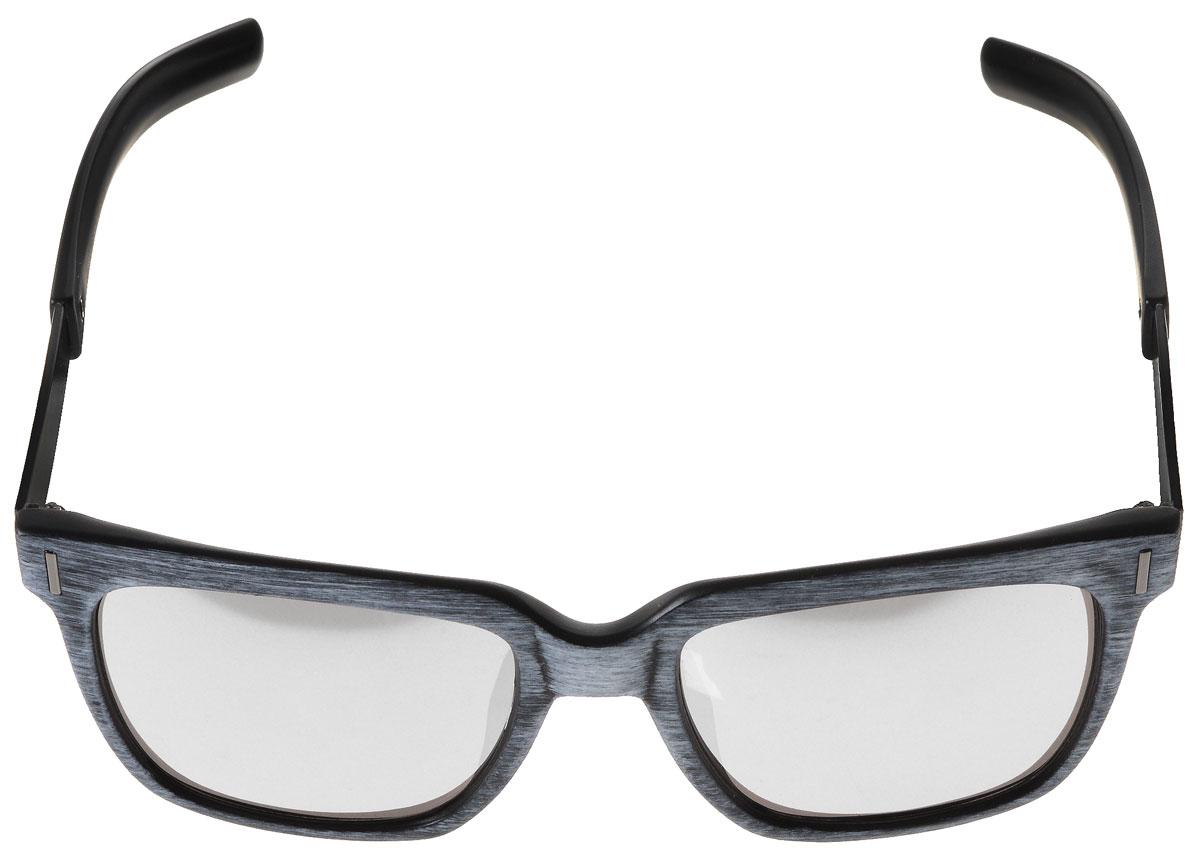 Очки солнцезащитные женские Vitacci, цвет: серый, черный. O159O159Стильные солнцезащитные очки Vitacci выполнены из высококачественного пластика с элементами из металла. Линзы данных очков обладают высокоэффективным поляризационным покрытием со степенью защиты от ультрафиолетового излучения UV400. Используемый пластик не искажает изображение, не подвержен нагреванию и вредному воздействию солнечных лучей. Пластиковая оправа очков легкая, прилегающей формы и поэтому обеспечивает максимальный комфорт. Оправа имеет оригинальную фактуру, а дужки дополнены декоративными элементами из металла. Такие очки защитят глаза от ультрафиолетовых лучей, подчеркнут вашу индивидуальность и сделают ваш образ завершенным.