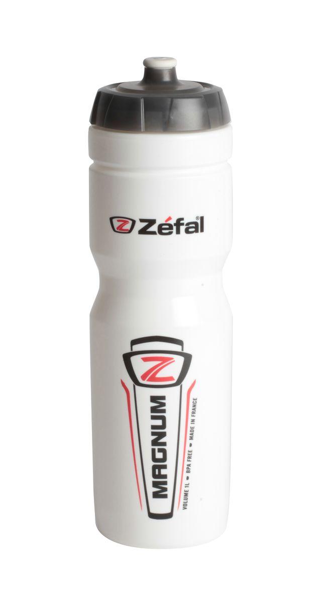 Фляга велосипедная Zefal Magnum. 164С164СВелосипедная фляга Zefal Magnum объемом 1 л, изготовлена из пищевого полимера (без использования бисфенола и ПВХ). Вы можете без труда ее установить на велосипед (держатель для фляги приобретается отдельно). Делайте большие глотки благодаря клапану с сильной струей и наполняйте фляжку с помощью большой винтовой крышки. Zefal – старейший французский производитель велосипедных аксессуаров премиального качества, основанный в 1880 году, является номером один на французском рынке велосипедных аксессуаров. Фляга Zefal Magnum, объем 1л, цвет белый ОСОБЕННОСТИ: - Фляга изготовлена из пищевого полимера - Крышка с защитным клапаном - Объем 1л (33 oz) - Высота фляги 259 мм - Вес 105 гр