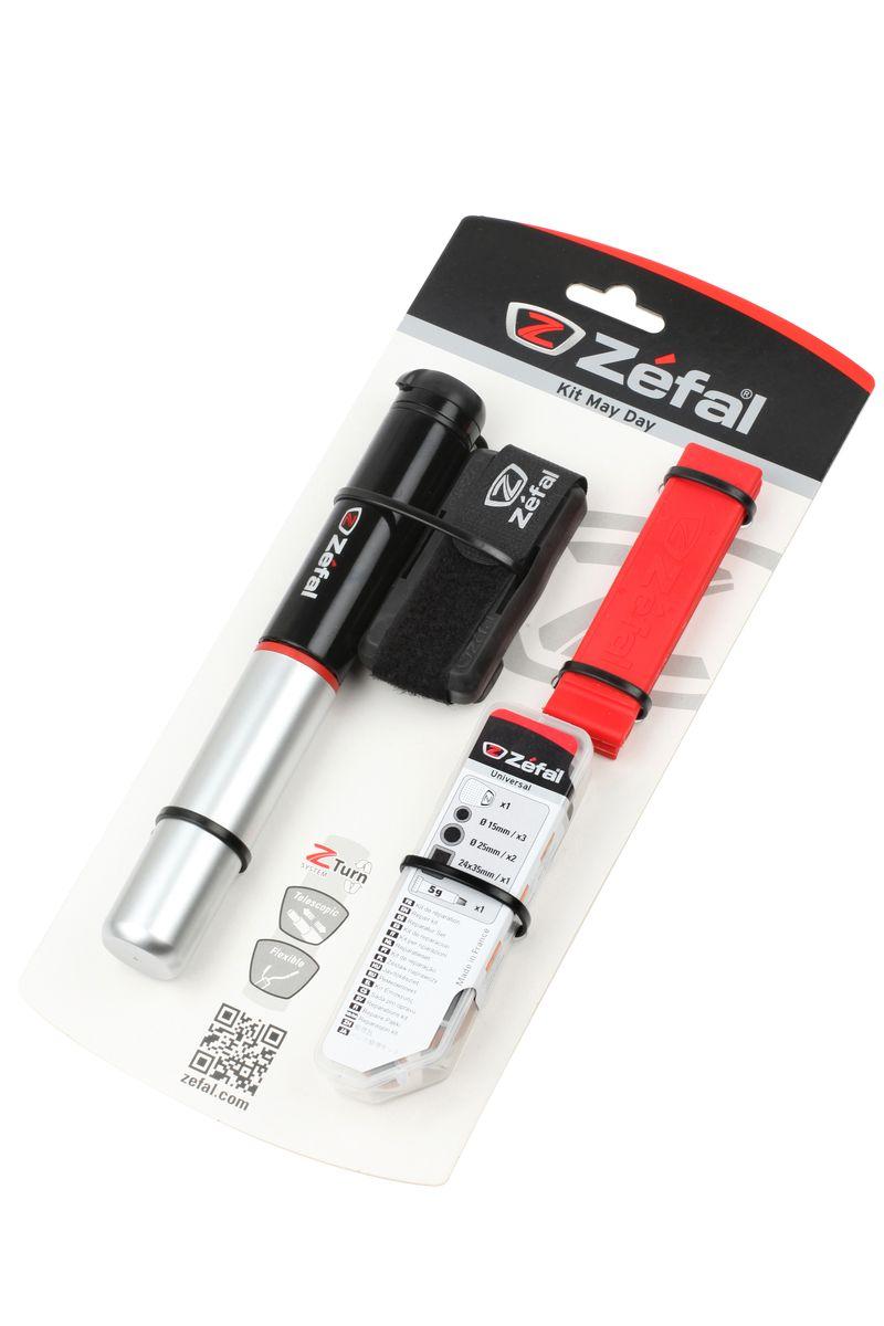 Набор для ремонта камер Zefal Kit May DayMHDR2G/AНабор для ремонта камер Zefal Kit May Day. С его помощью Вы сможете быстро отремонтировать прокол и продолжить катание на велосипеде. Набор состоит из: - Мини-насос Zefal Air Profil FC01 (подходит под авто и вело ниппель) - Монтажки усиленные Zefal Z Levers - Инструмент для зачистки камеры- Заплатки ( 6шт круглых O15mm, 2шт прямоугольных 30х50мм)- Клей 5грАлюминиевый насос Zefal Air Profil FC01 имеет телескопическую конструкцию, благодаря чему процес накачки занимает меньше времени. Специальная система клапана Z-swift позволяет использовать этот насос с двумя типами ниппелей (авто и вело. Насос компактный и его легко прикрепить к велосипеду за счет фирменного крепления (поставляется в комплекте с насосом). Максимальное давление: 8 атмосфер (116 psi)Корпус выполнен из алюминияВес: 92 грДлина насоса: 230 ммZefal – старейший французский производитель велосипедных аксессуаров премиального качества, основанный в 1880 году, является номером один на французском рынке велосипедных аксессуаров. Состав:- Мини-насос Zefal Air Profil FC01 (подходит под авто и вело ниппель) - Монтажки усиленные Zefal Z Levers - Инструмент для зачистки камеры- Заплатки ( 6шт круглых O15mm, 2шт прямоугольных 30х50мм)- Клей 5гр
