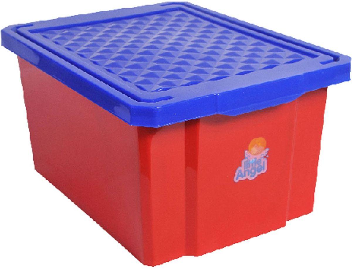 Little Angel Ящик для хранения игрушек 17 л цвет красный