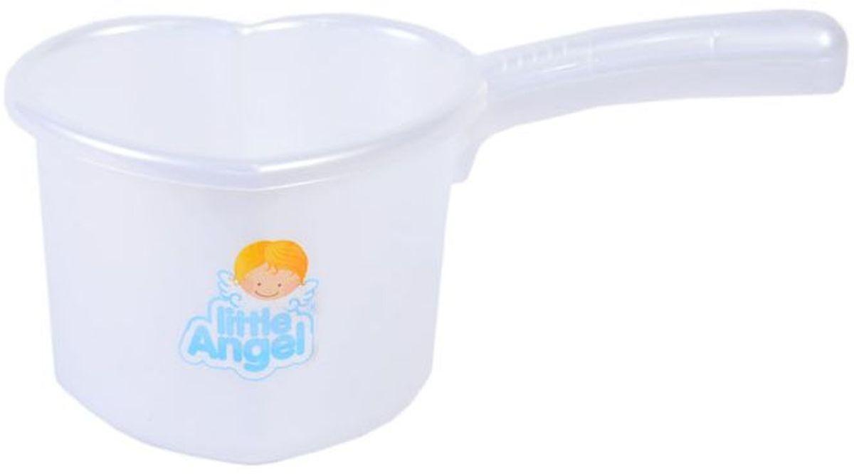 Little Angel Ковшик для детской ванночки цвет белый LA1022PL