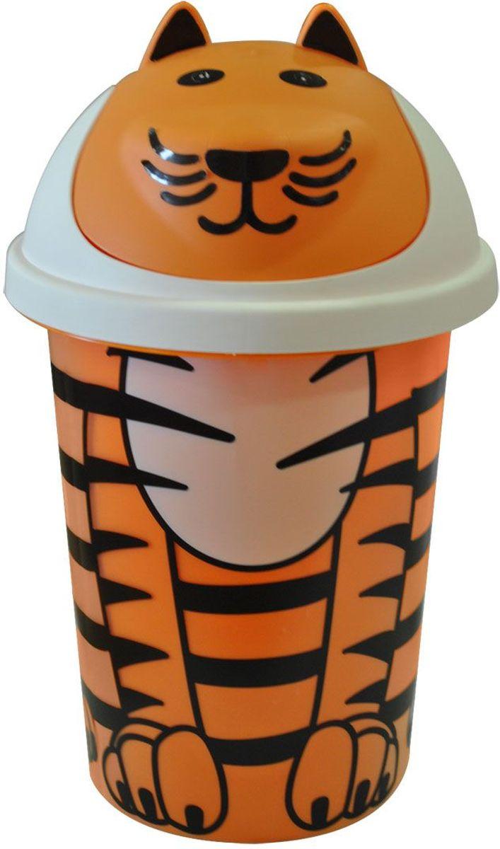 Little Angel Корзина для игрушек Jungle цвет оранжевый