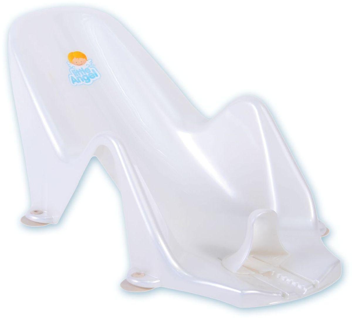 Little Angel Горка для купания Дельфин цвет белый LA2902PL