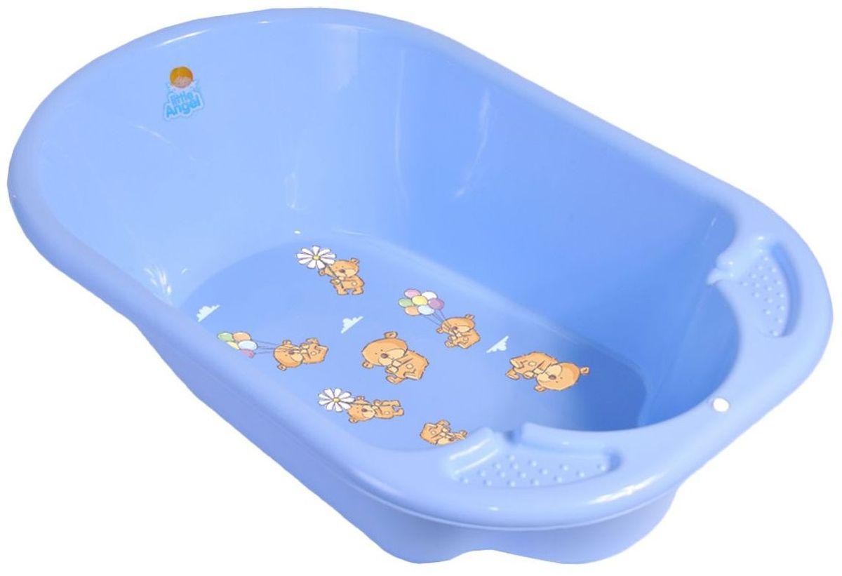 Little Angel Ванна детская Дельфин Bears цвет голубой LA2904BL