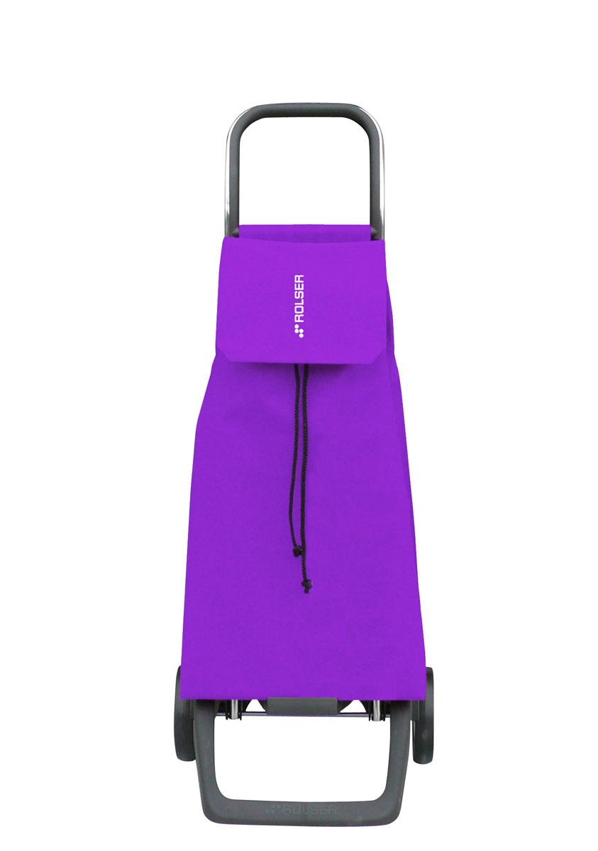 Сумка хозяйственная Rolser, на колесиках, цвет: malva, 45 лJET001 malvaАлюминиевая тележка для покупок с 2 колесами, диаметр колес 13,2 см, колеса резина EVA. Эргономичная ручка, складываемая передняя подставка. Сумка имеет форму рюкзака, объем 45 л, ткань полиэстер, влагоустойчивая, имеет удобное закрытие сумки и легко крепится на раме. Тележка не складывается. Рекомендованная нагрузка 25 кг, чистка ручная или химчистка.
