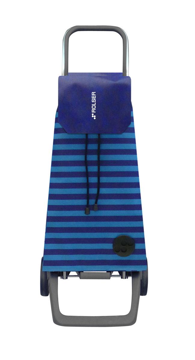 Сумка хозяйственная Rolser, на колесиках, цвет: azul, 45 лJET021 azulАлюминиевая тележка для покупок с 2 колесами, диаметр колес 13,2 см, колеса резина EVA. Эргономичная ручка, складываемая передняя подставка. Сумка имеет форму рюкзака, объем 45 л, ткань полиэстер, влагоустойчивая, имеет удобное закрытие сумки и легко крепится на раме. Тележка не складывается. Рекомендованная нагрузка 25 кг, чистка ручная или химчистка.