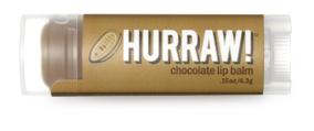 Hurraw! Бальзам для губ Chocolate Lip Balm, 4,3 г005038Бальзамы для губ Hurraw! производятся в США на небольшом домашнем производстве. Идея создателей бренда заключалась в том, чтобы разработать поистине идеальный бальзам для губ: натуральный, вегетарианский, произведенный из органических ингредиентов высочайшего качества и не содержащий вредных веществ и искусственных компонентов. Все бальзамы Hurraw! производятся из чистого органического масла, которое добывается путем холодного отжима, что позволяет всем веществам сохранять свои полезные свойства. Помимо этого, приятно знать, что продукция марки Hurraw! не содержит ингредиентов животного происхождения и никогда не тестируется на животных. А еще бальзамы разливаются по флакончикам вручную!