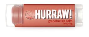 Hurraw! Бальзам для губ Grapefruit Lip Balm, 4,3 гFS-00897Бальзамы для губ Hurraw! производятся в США на небольшом домашнем производстве.Идея создателей бренда заключалась в том, чтобы разработать поистине идеальный бальзам для губ: натуральный, вегетарианский, произведенный из органических ингредиентов высочайшего качества и не содержащий вредных веществ и искусственных компонентов.Все бальзамы Hurraw! производятся из чистого органического масла, которое добывается путем холодного отжима, что позволяет всем веществам сохранять свои полезные свойства.Помимо этого, приятно знать, что продукция марки Hurraw! не содержит ингредиентов животного происхождения и никогда не тестируется на животных.А еще бальзамы разливаются по флакончикам вручную!