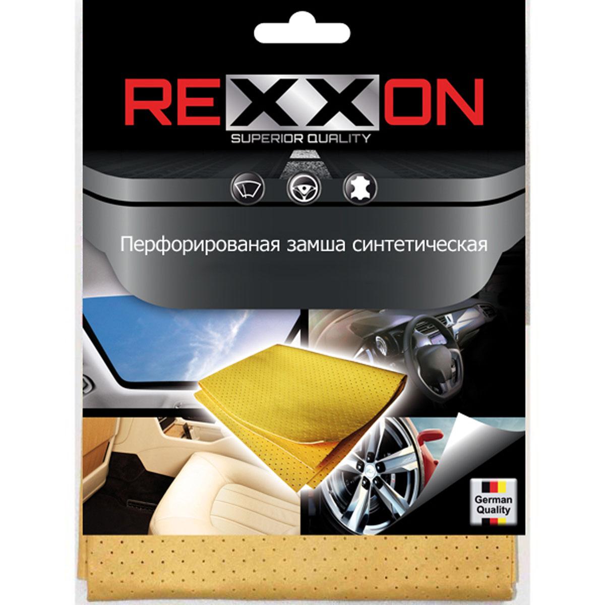 Салфетка Rexxon, впитывающая, 30 x 40 см2-10-1-3-3Впитывающая салфетка из синтетической замши. Плотность: 180g/m2