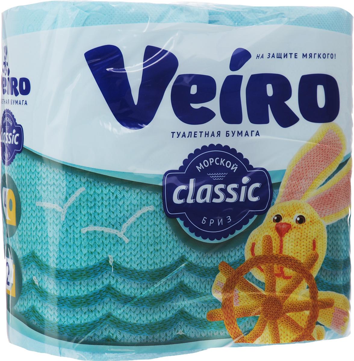 Бумага туалетная Veiro Classic. Морской бриз, ароматизированная, двухслойная, 4 рулона5C24гАроматизированная туалетная бумага Veiro Classic. Морской бриз, выполненная из натуральной целлюлозы и обладает приятным ароматом свежести. Двухслойная туалетная бумага мягкая, нежная, но в тоже время прочная, с отрывом по линии перфорации. Листы имеют рисунок с тиснением. Длина рулона: 17,5 м. Количество слоев: 2. Размер листа: 12,5 х 9,5 см. Состав: 100% целлюлоза.