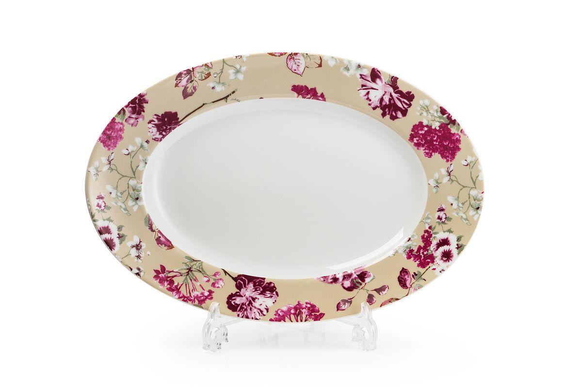 Блюдо овальное La Rose des Sables Liberty, диаметр 35 см531235 2150Можно использовать в СВЧ и посудомоечной машине.