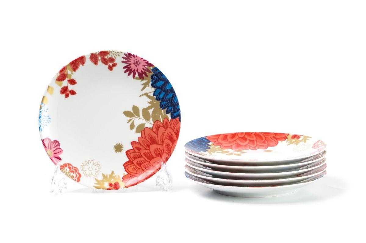 Набор тарелок La Rose des Sables Ilionor, диаметр 23 см, 6 шт729106 2227Можно использовать в СВЧ и посудомоечной машине.