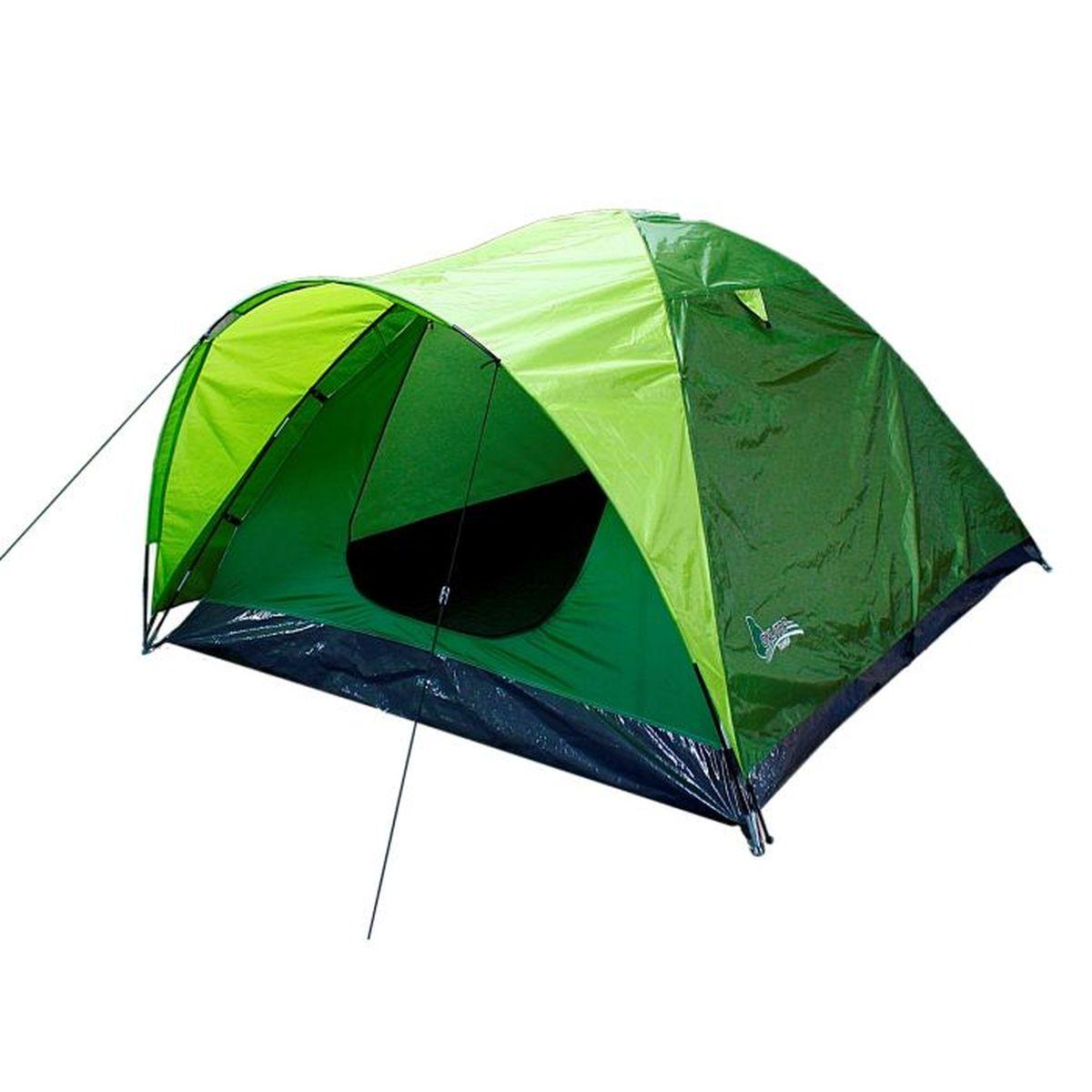 Палатка туристическая Onlitop COLITE 3, двухслойная, цвет: зеленый