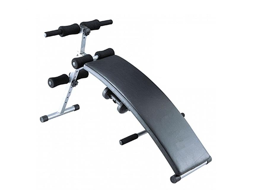 Cкамья для пресса Sport Elit SE-510, цвет черный велотренажер sport elit se 601