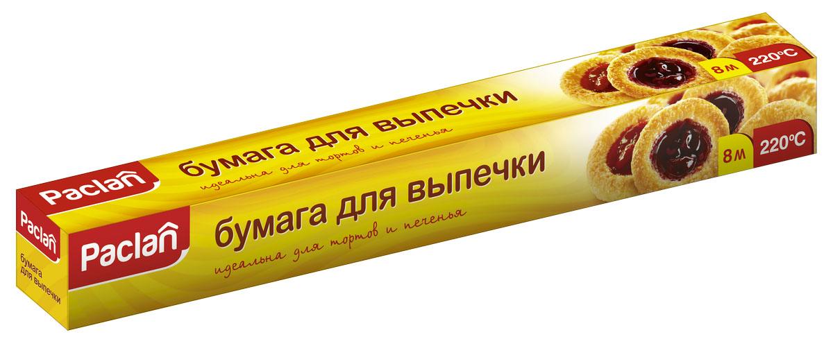 Бумага для выпечки Paclan, в коробке, 8 м х 38 см163301/400132Высококачественная- Силиконизированная с обеих сторон- Не требуется дополнительное смазывание жиром- Водонепроницаемая- Жиронепронецаемая- Жаростойкая- Для многократного использования- Идеально подходит для любого метода приготовления пищи