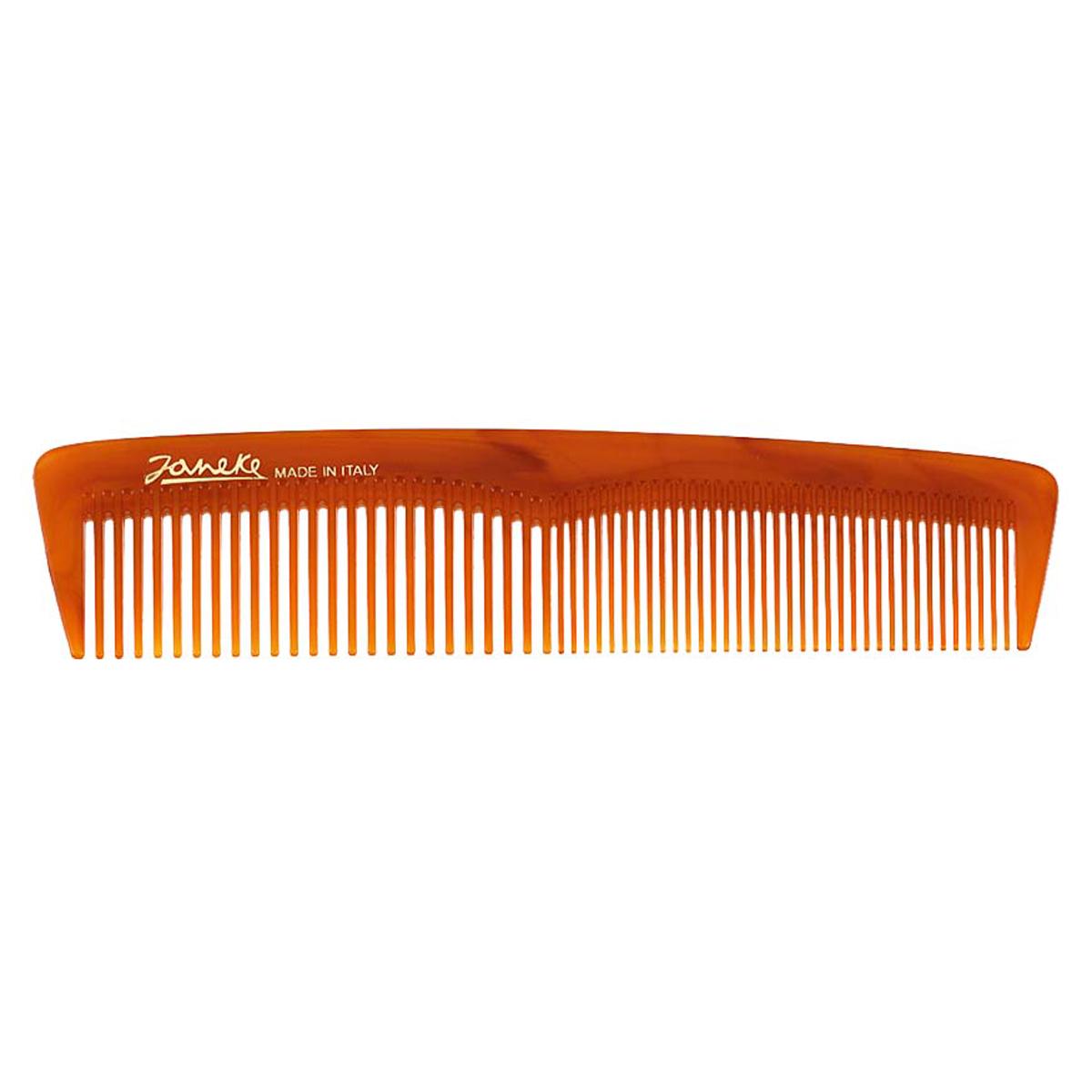 Janeke Расческа для волос в упаковке, 78813Satin Hair 7 BR730MNМарка Janeke – мировой лидер по производству расчесок, щеток, маникюрных принадлежностей, зеркал и косметичек. Марка Janeke, основанная в 1830 году, вот уже почти 180 лет поддерживает непревзойденное качество своей продукции, сочетая новейшие технологии с традициями ста- рых миланских мастеров. Все изделия на 80% производятся вручную, а инновационные технологии и современные материалы делают продукцию марки поистине уникальной. Стильный и эргономичный дизайн, яркие цветовые решения – все это приносит истин- ное удовольствие от использования аксессуаров Janeke. Пластиковая линия из высококачественного сырья, большое разнообразие моделей и цветов, кончик расчески специально закруглен, чтобы предотвратить разрыв волоса