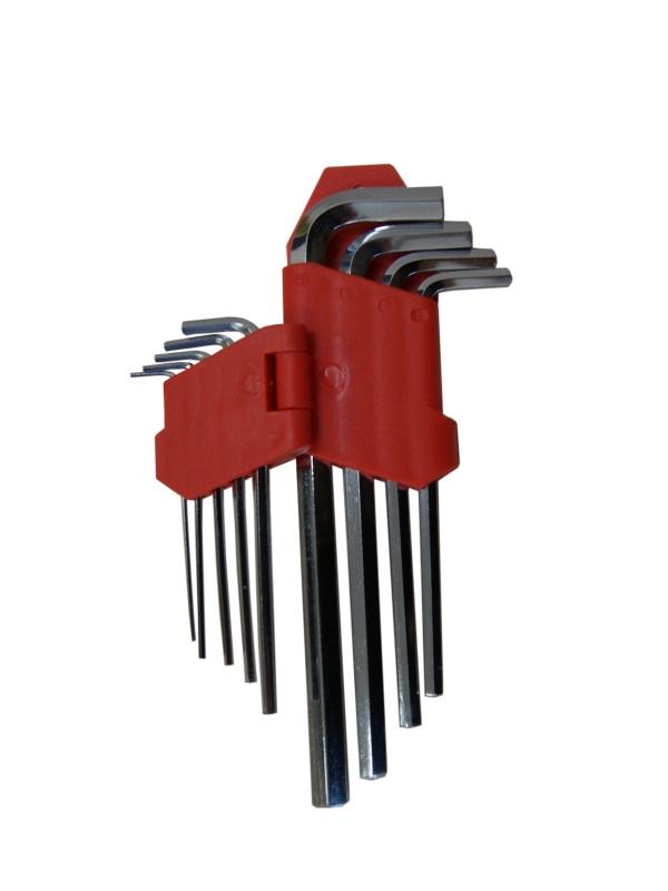 Набор ключей шестигранных Skybear, 9 шт,1,5-10 мм, средние311512Набор ключей шестигранных, 9 шт 1.5 - 10 мм, средние