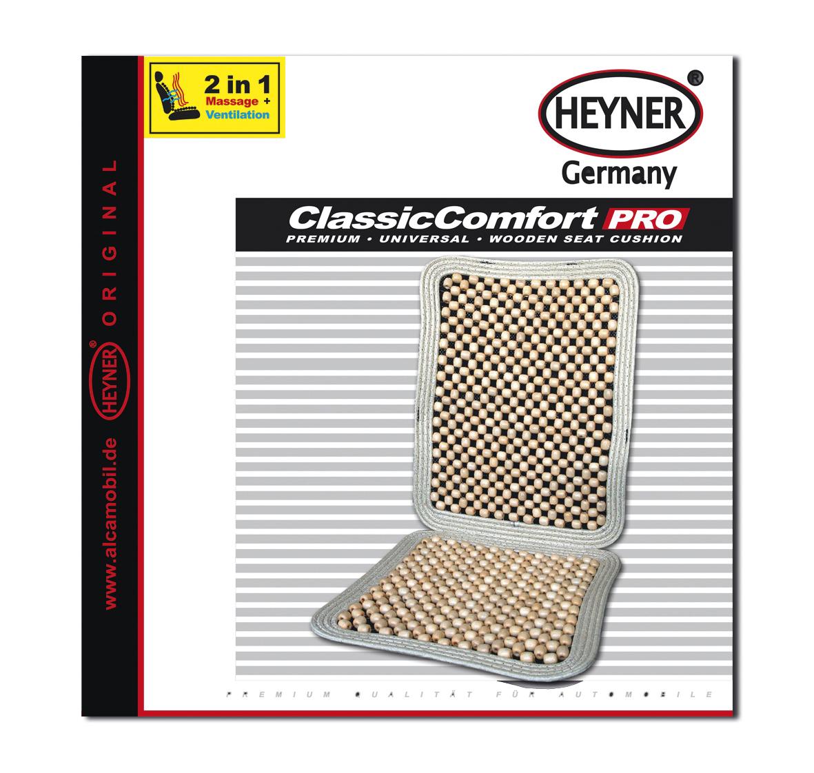 Накидка-массажер на сиденье Heyner, деревянные шарики, сиденье 38 х 38 см, спинка 50 х 38 смVT-1520(SR)Накидка Heyner обеспечивает массаж и охлаждение для водителя и пассажиров посредством деревянных шариков. Быстро и просто устанавливается на все типы автомобильных сидений.Размер сиденья: 38 х 38 см.Размер спинки: 50 х 38 см.