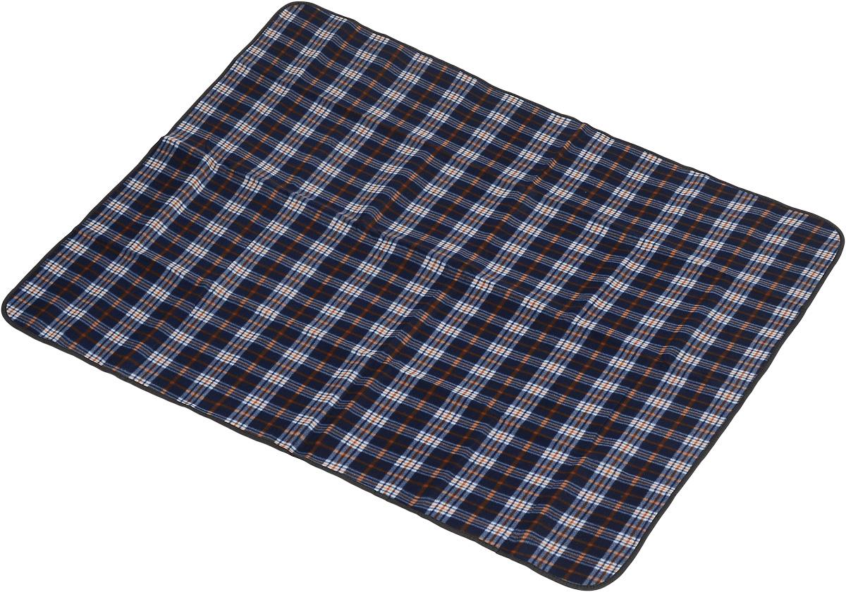Коврик для пикника Wildman Виши, цвет: темно-синий, 130 х 150 см81-392_темно-синийКоврик для пикника Wildman Виши, выполненный из хлопка и полимерных материалов, позволит полноценно отдохнуть на природе. Он легкий, не занимает много места и прекрасно изолирует человеческое тело от холода и влаги. Мягкая поверхность коврика защищает от неровностей почвы, поэтому туристам, имеющим такую подстилку, гарантирован, кроме удобного отдыха, еще и комфортный сон.