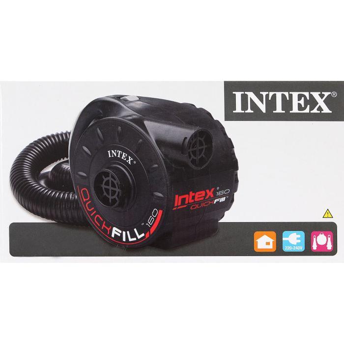 Насос электрический Intex, цвет: черный. 66624