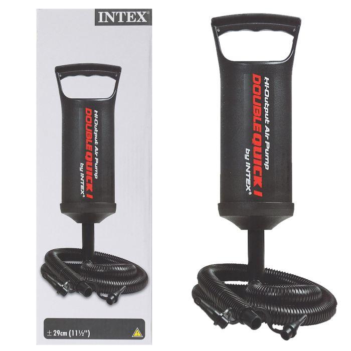 Насос ручной Intex 29см, цвет: черный. 68612