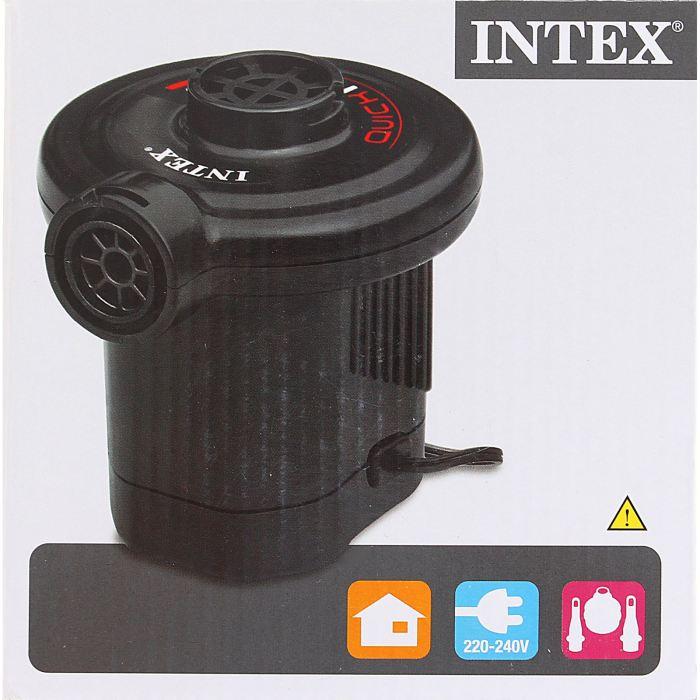 Насос электрический Intex три разных насадки, цвет: черный. 66620
