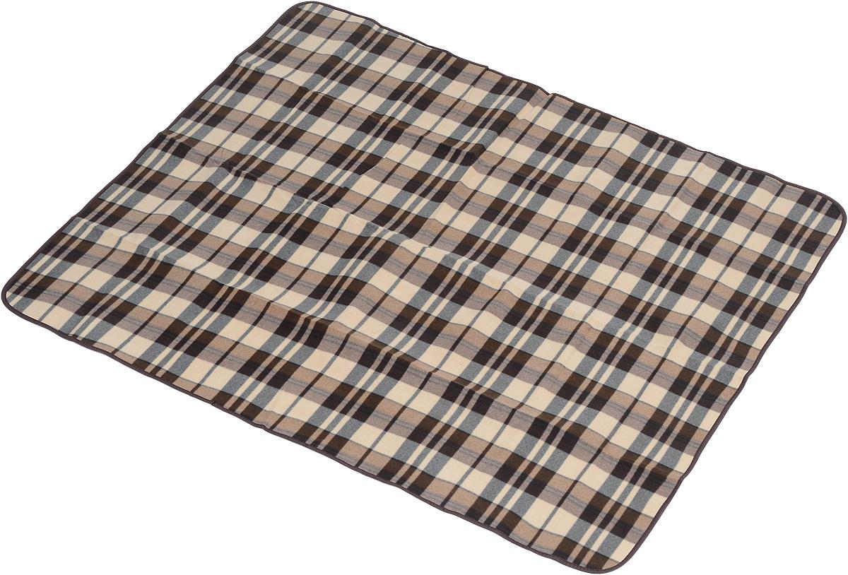 Коврик для пикника Wildman Виши, цвет: коричневый, 130 х 150 см1168Коврик для пикника Wildman Виши, выполненный из хлопка и полимерных материалов, позволит полноценно отдохнуть на природе.Он легкий, не занимает много места и прекрасно изолирует человеческое тело от холода и влаги. Мягкая поверхность коврика защищает от неровностей почвы, поэтому туристам, имеющим такую подстилку, гарантирован, кроме удобного отдыха, еще и комфортный сон.