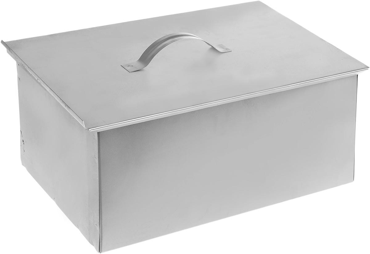 Коптильня RoyalGrill, 39 х 27 х 16 см80-049Коптильня RoyalGrill представляет собой стальную герметичную коробку, снабженную сдвигающейся крышкой. Коптильня предназначена для горячего копчения рыбы, мяса, птицы, сосисок и других продуктов на открытом воздухе. В комплект входит 2 решетки, которые позволяют осуществлять процесс копчения одновременно на 2-х уровнях. Размер коптильни: 39 х 27 х 16 см.