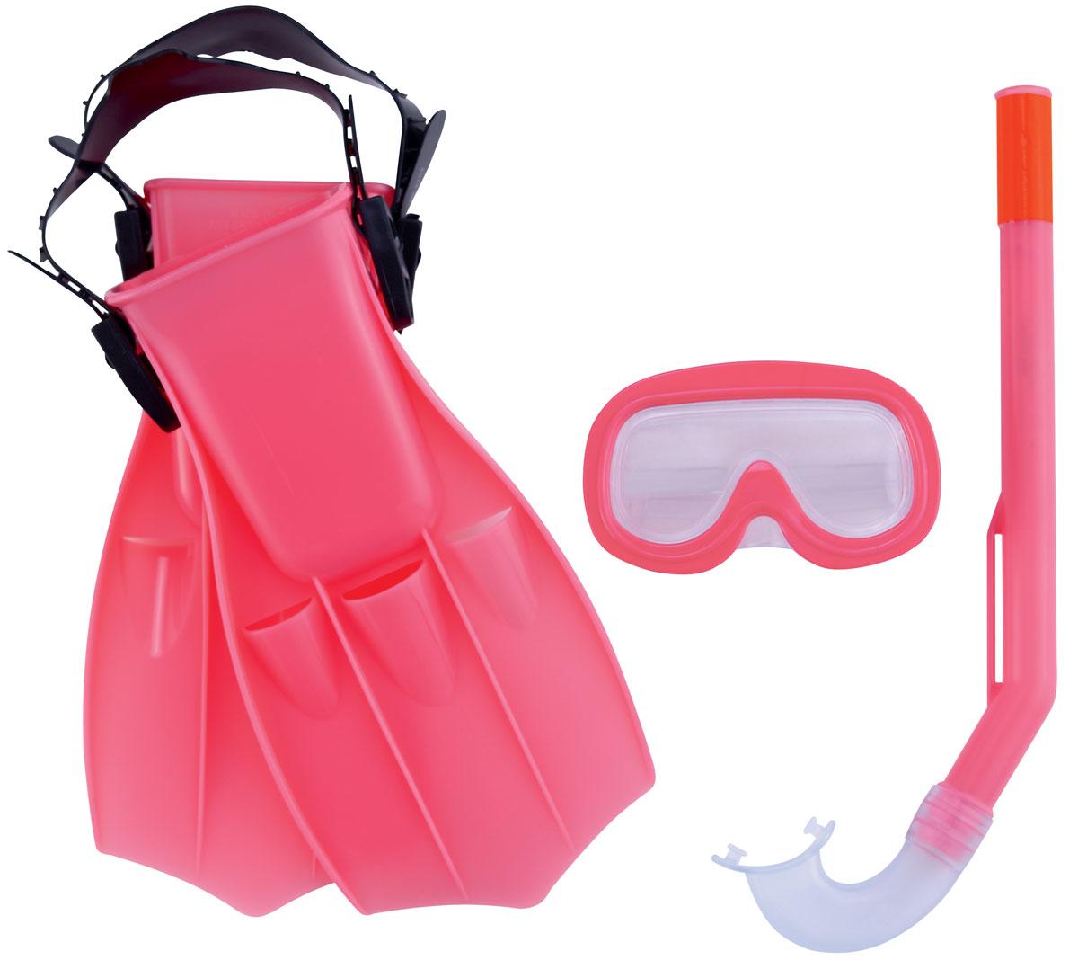 Bestway Набор для ныряния детский Play Pro. 25008470.002Детский набор для ныряния Bestway Play Pro предназначен для малышей в возрасте от 3 до 6 лет. В комплект входит удобная маска, обеспечивающая хороший обзор и прочное крепление, ласты и трубка со специальным стандартным изгибом, надежно предотвращающая попадание воды. С таким набором вы можете быть спокойны за безопасность ребенка, изучающего подводный мир. Гарантией качества, удобства и прочности этого набора является его известный производитель Bestway. Этот бренд, появившийся еще в 1993 году, зарекомендовал себя на рынке как изготовитель первоклассных изделий для активного отдыха.