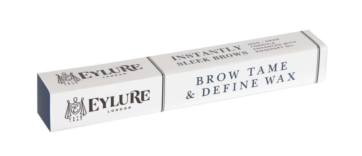 Eylure Воск для фиксации бровей Tame & Define Wax 1,46 гр5010777139655Стойкий и эффективный воск для бровей в виде карандаша кондиционирует, укрепляет брови и помогает улучшать здоровый рост. Содержит масло розмарина, растительный воск и масло сладкого миндаля, а также активный комплекс RepHair для укрепления структуры бровей.