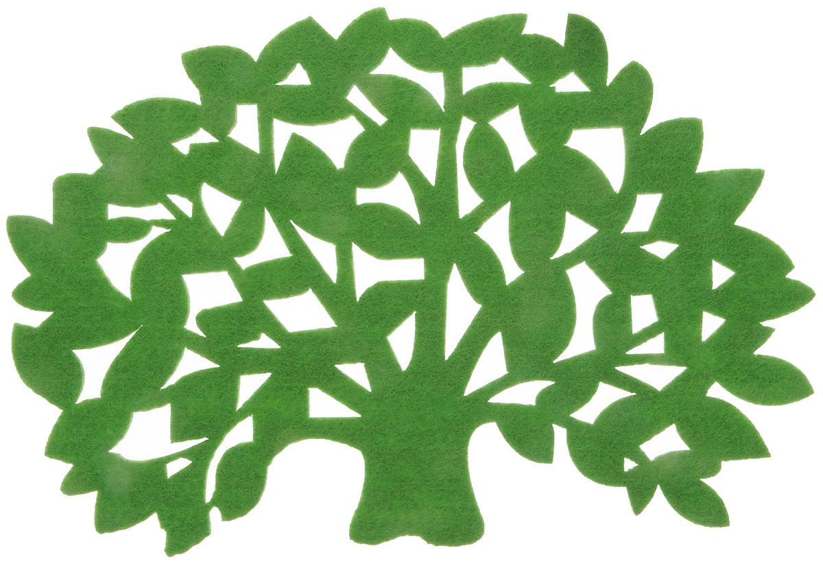 Салфетка-подставка под горячее Blumen Haus, цвет: зеленый, 20 х 13,5 см82014_зеленыйСалфетка-подставка под горячее Blumen Haus изготовлена из фетра и оформлена изысканной перфорацией в виде листьев. Такая салфетка прекрасно подойдет для украшения интерьера кухни, она сбережет стол от высоких температур и грязи. Размер салфетки: 20 х 13,5 см.