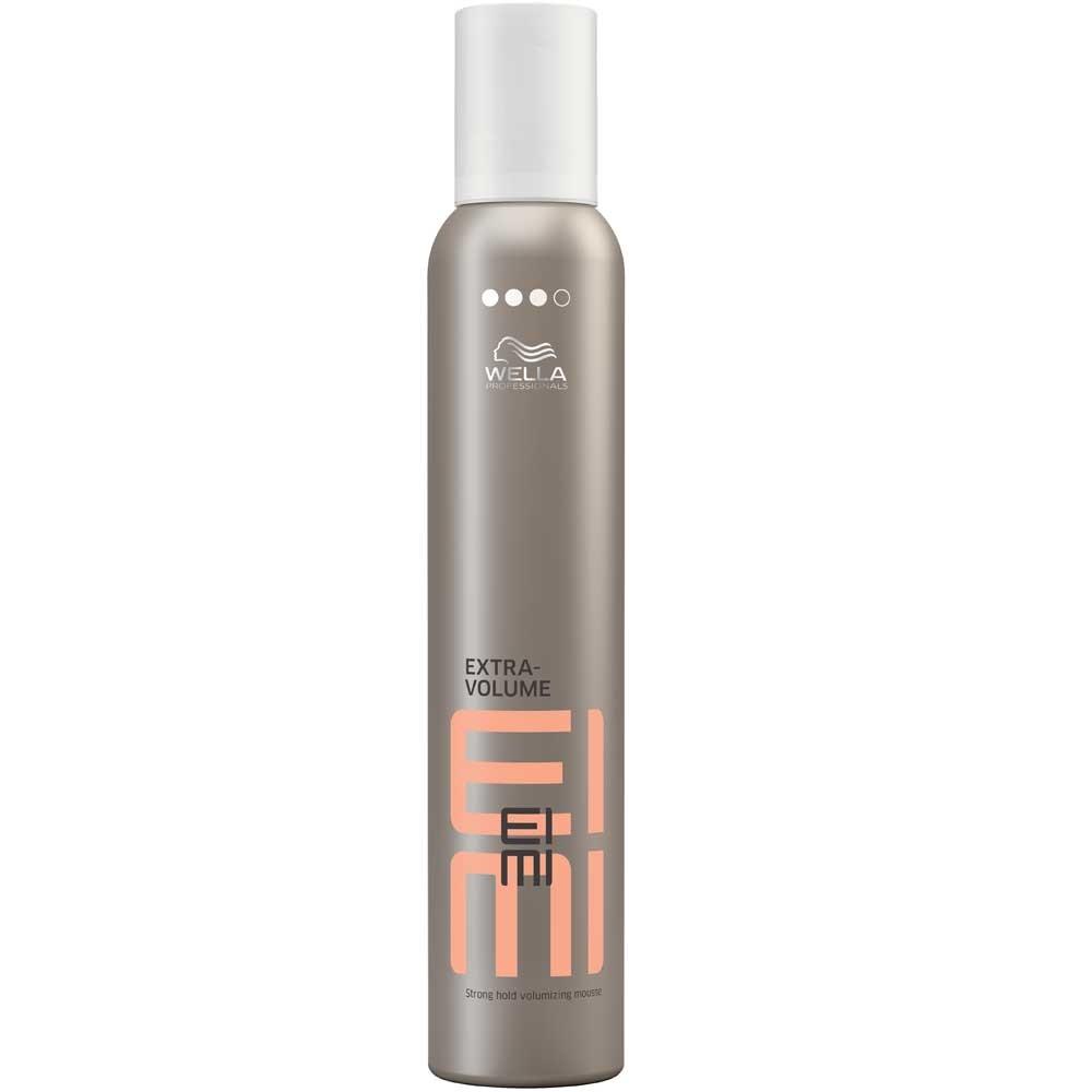 Wella Пена для укладки сильной фиксации EIMI Extra Volume, 300 мл81391109Пена для укладки волос со степенью фиксации 3 позволяет придать волосам идеальную форму.