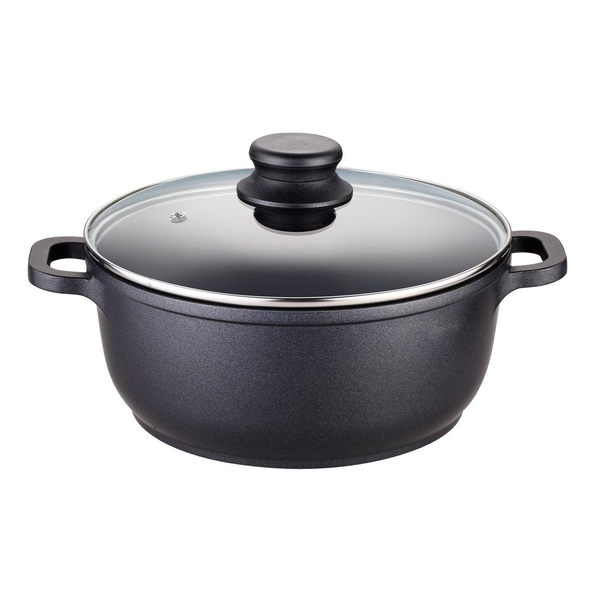 Кастрюля EcoWoo с крышкой, c антипригарным гранитным покрытием, 20х8,5 см, 2,3 л1005097UПодходит для использования в посудомоечной машине. Не использовать в СВЧ печи, духовом шкафу.