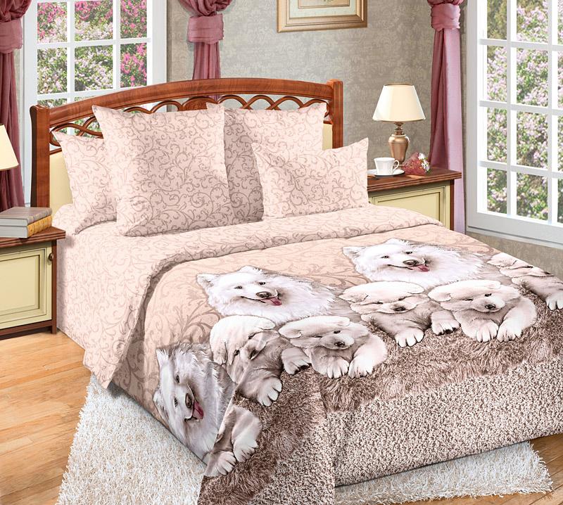 Комплект белья Текс-Дизайн Джесси, евро 1, наволочки 70х704250ПВеликолепное постельное белье Текс-Дизайн Джесси выполнено из высококачественного перкаля (100% хлопок) и украшено эксклюзивным рисунком. Комплект состоит из пододеяльника, простыни и двух наволочек. Перкаль - это тонкая и легкая хлопчатобумажная ткань высокой плотности полотняного переплетения, сотканная из пряжи высоких номеров. При изготовлении перкаля используются длинноволокнистые сорта хлопка, что обеспечивает высокие потребительские свойства материала. Несмотря на свою утонченность, перкаль очень практичен - это одна из самых износостойких тканей для постельного белья.