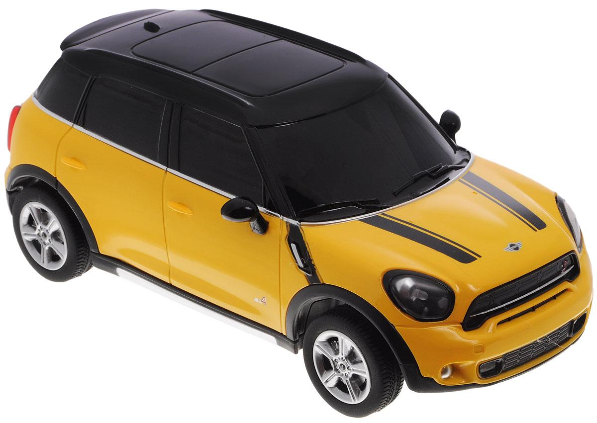 Rastar Радиоуправляемая модель Mini Cooper S Countryman цвет желтый 71700_желтый